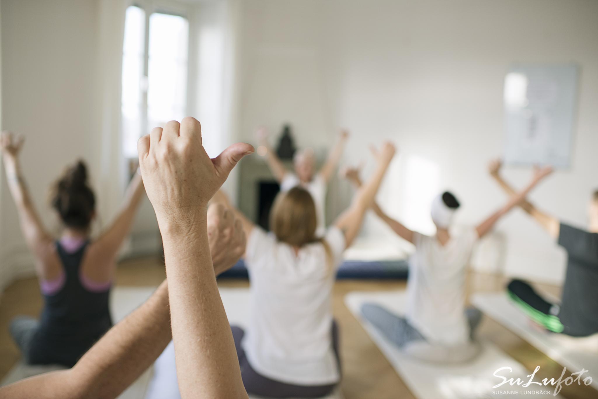 Yoga grupp